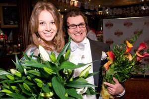 Полина Диброва Наградова с мужем