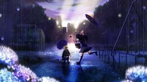 стихи про дождик и Аллу