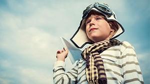 стихи про мальчика Платона и самолетик